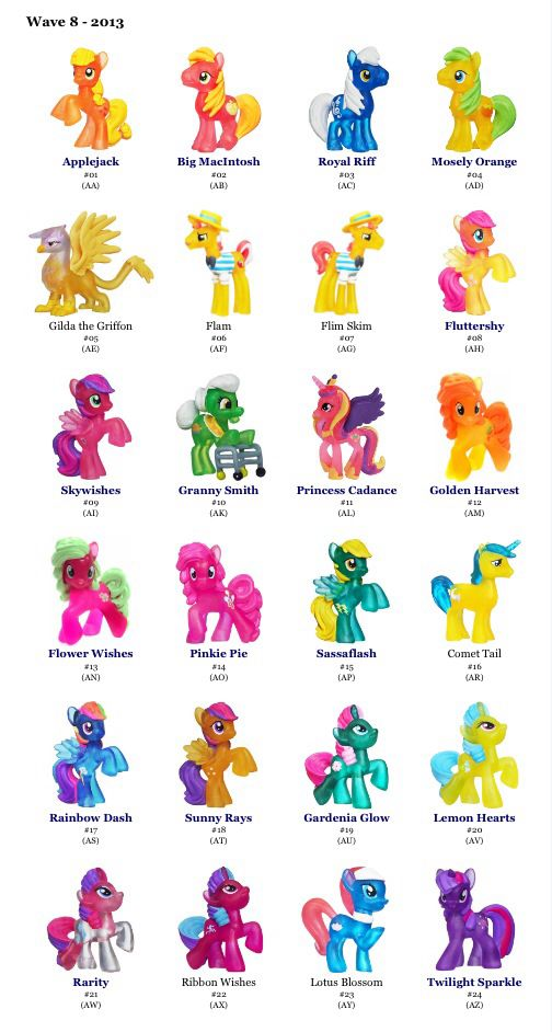 my little pony blind bag box wave 8 24 packs ebay