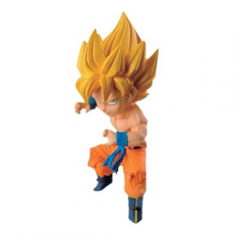 Dragon Ball Banpresto Ichiban Kuji WCF version ~Z~ Mini Figure (SSJ Son Goku)