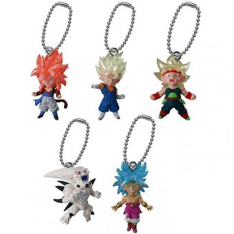 Dragon Ball UDM The Best 13 Keychain Swing Collection