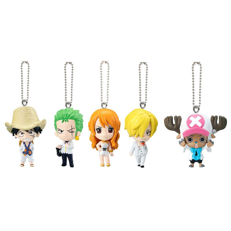 One Piece Film Gold Keychain Swing Mascot Collection