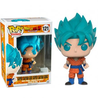 Dragon Ball Funko POP! Vinyl Hot Topic exclusive Super Saiyan Blue Goku