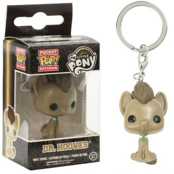 My Little Pony Funko POP! Vinyl Keychain - Dr Whooves