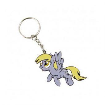 My Little Pony metal keychain - Derpy
