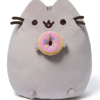 GUND Pusheen the Cat with Donut Plush