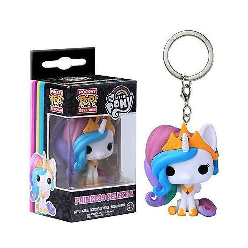 My Little Pony Funko POP! Vinyl Keychain - Prince Celestia
