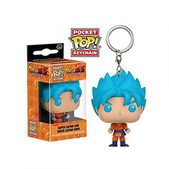 Dragon Ball Funko POP! Vinyl Keychain Super Saiyan Blue Goku
