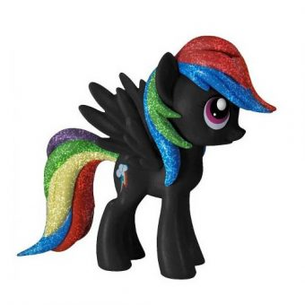 My Little Pony Funko Vinyl Figure - Rainbow Dash (Black)