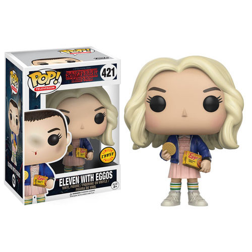 Stranger Things Funko POP! Vinyl Chase exclusive - Eleven with Eggos