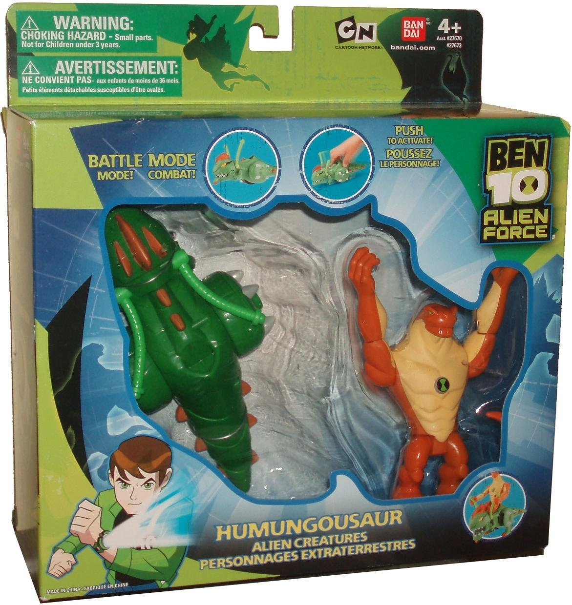 Ben 10 Alien Force Alien Creatures - Humungousaur