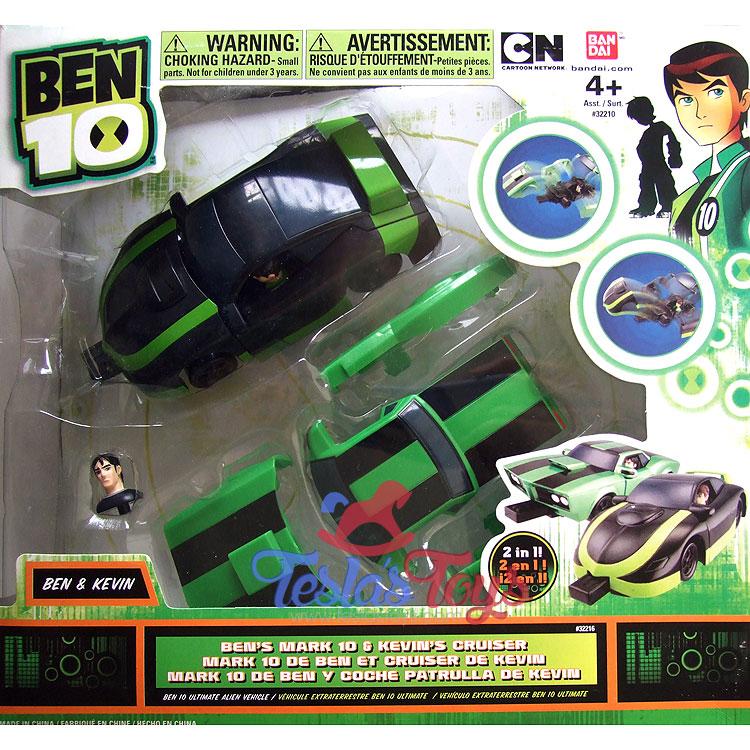 Ben 10 Kevin Car Images: Ben 10 Alien Force Ben's Mark 10 And Kevin's Cruiser (Mix