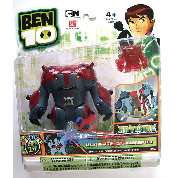 "Ben 10 ULTIMATE CANNONBOLT 4/"" ULTIMATE ALIEN Action Figure BANDAI NEW  #27882"