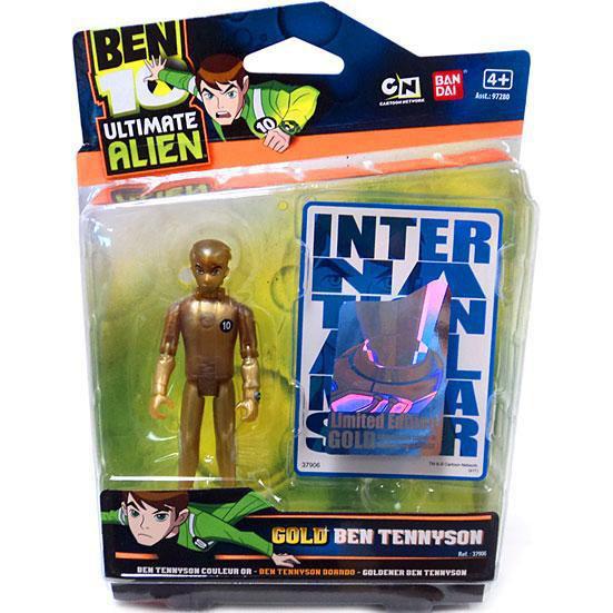 Ben 10 Ultimate Alien Special Edition Action Figure - Ben Tennyson (Gold)