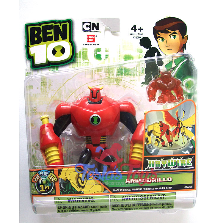 Ben 10 Ultimate Alien Action Figure Armodrillo Haywire