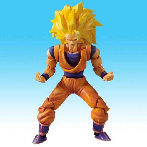 Dragon Ball Hybrid Action Figure Ssj3 Goku Tesla S Toys