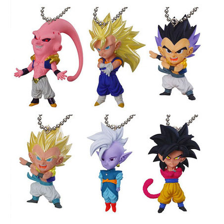 Dragon Ball Udm Burst 07 Keychain Swing Collection Tesla