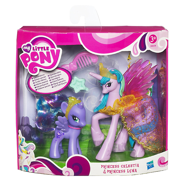 My Little Pony Canterlot Exclusive 2 Pack Princess Celestia And