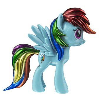 My Little Pony Funko Vinyl Figure - Metallic Rainbow Dash (Hot Topic Exclusive)