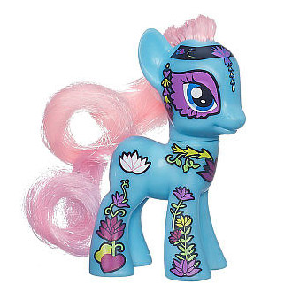 My Little Pony Figure - Ponymania Lotus Blossom (Loose)
