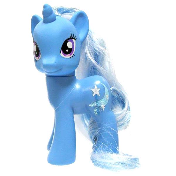 My Little Pony Figure Trixie Glitter Cutie Mark Loose