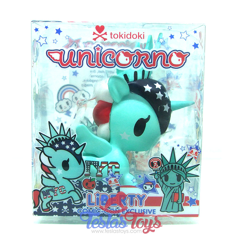 NYCC 2016 Exclusive Tokidoki Unicorno Mini Figure - Liberty
