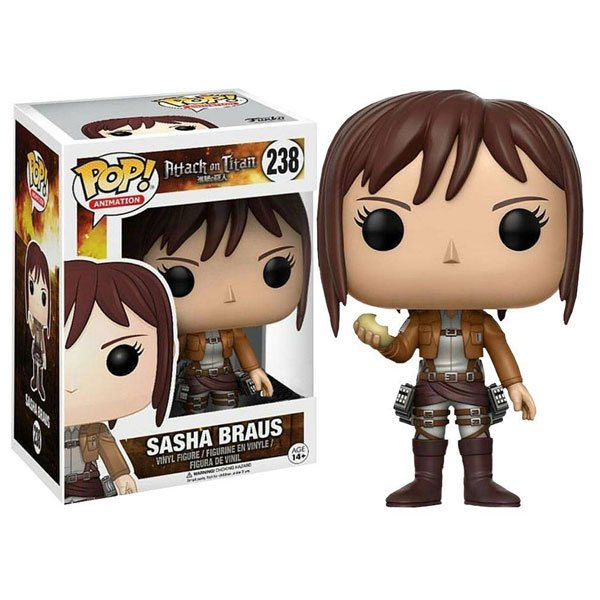Attack on Titan Funko POP! Vinyl Gamestop Exclusive - Sasha Braus