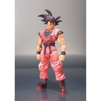 SDCC 2017 Exclusive Dragon Ball Bandai Tamashii Nations SH Figuarts Action Figure - Goku (Kaioken)