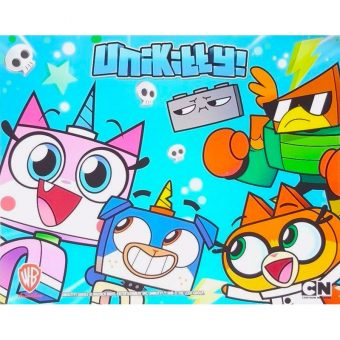 SDCC 2017 Lego Booth Exclusive Poster - Unikitty Cartoon Series