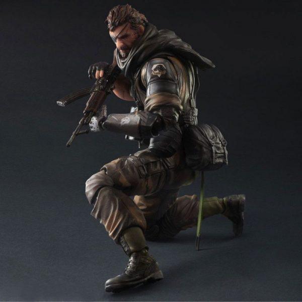 SDCC 2015 Metal Gear Solid V Play Arts Kai - Venom Snake Splitter