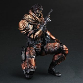 SDCC 2014 Metal Gear Solid V Play Arts Kai - Punished Snake Sneak Preview