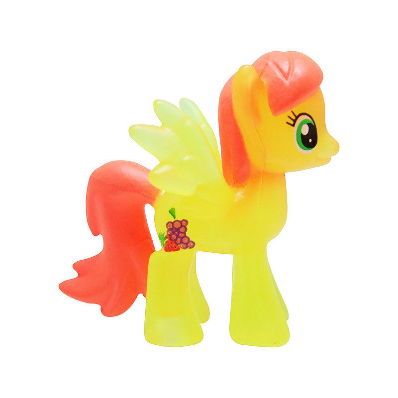 My Little Pony blind bag prototype Strawberry Sunrise crystal version 1
