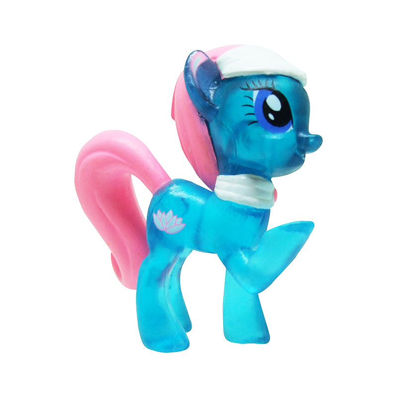 My Little Pony blind bag prototype Lotus Blosson crystal version 1