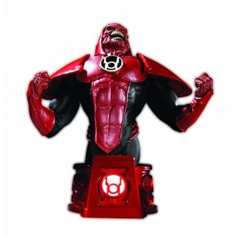 Green Lantern DC Direct Heroes of the DC Universe: Blackest Night Red Lantern Bust - Atrocitus SIGNED by Shane Davis