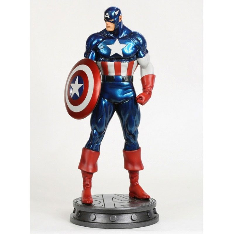 Captain America Classic Bowen Exclusive Statue SIGNED by Randy Bowen