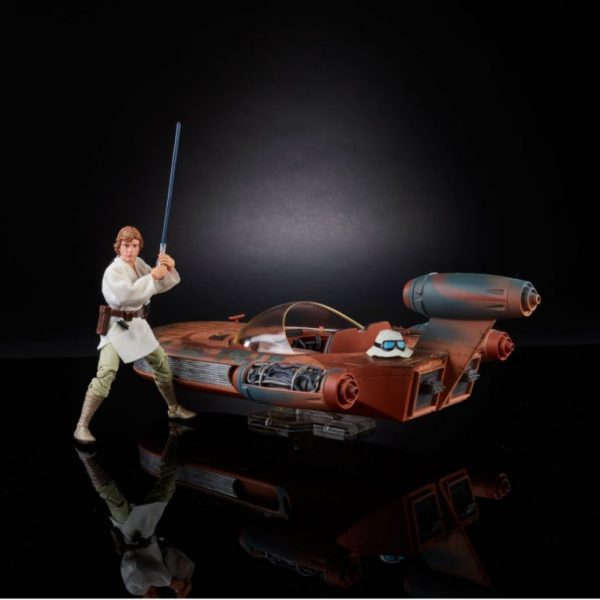 SDCC 2017 Exclusive Hasbro Star Wars The Black Series X-34 Landspeeder & 6-Inch Luke Skywalker