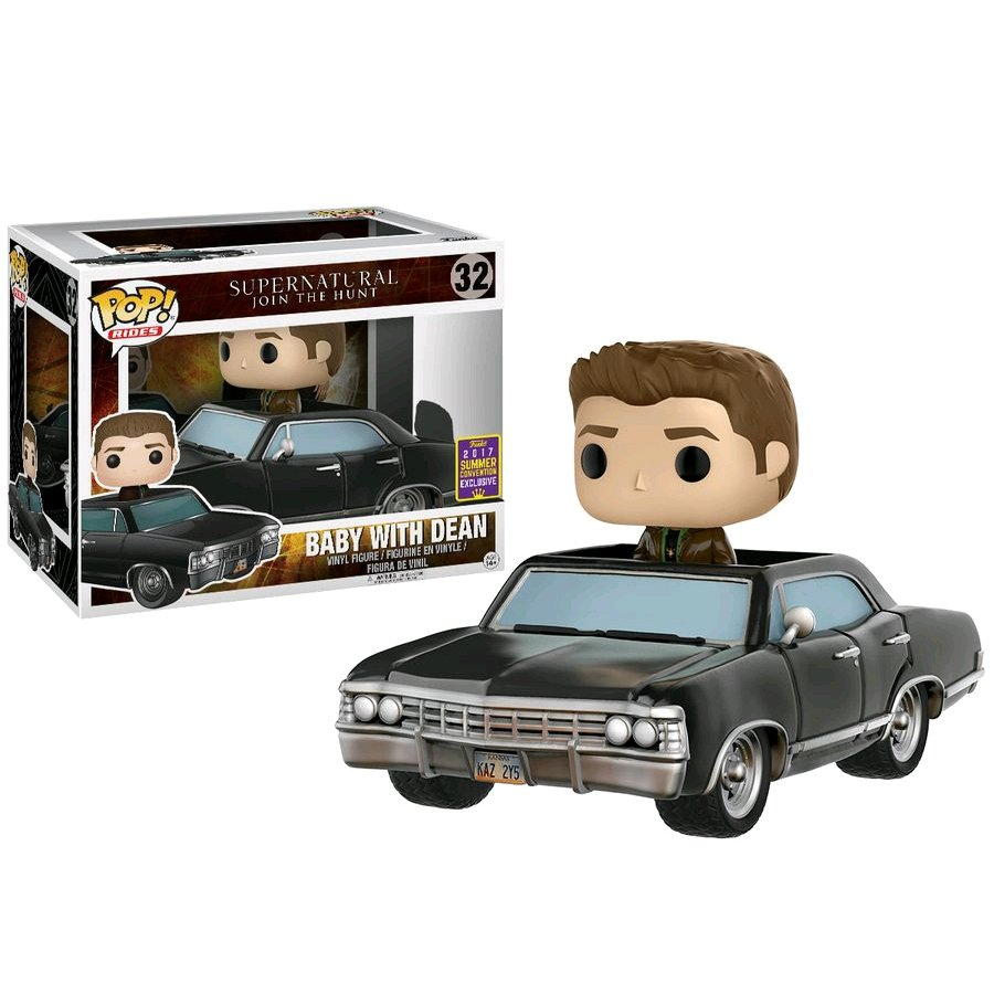 SDCC 2017 Exclusive Supernatural Funko POP! Rides Vinyl - Dean and Baby