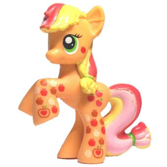 My Little Pony blind bag Applejack rainbowfied version 1