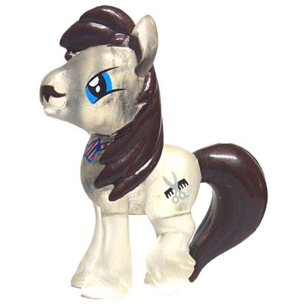 My Little Pony blind bag Barber Groomsby crystal version 1