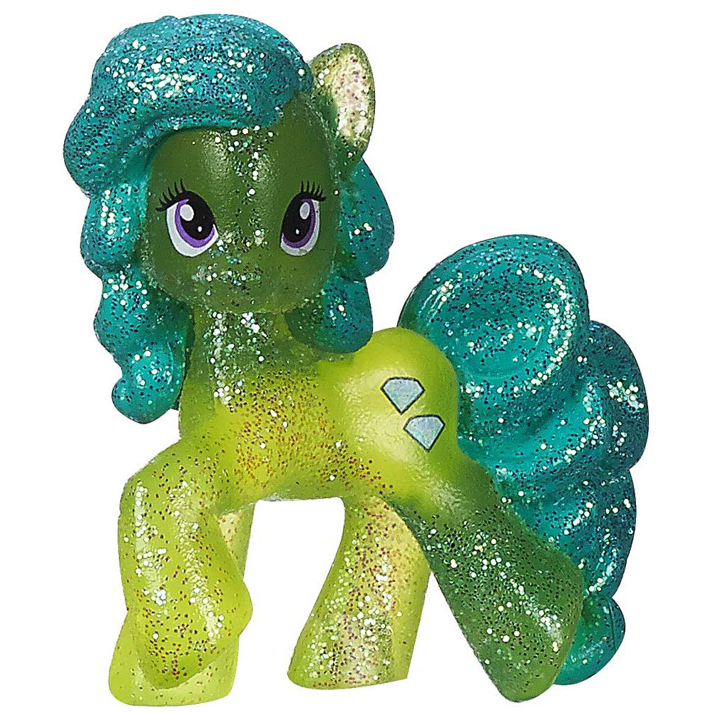 My Little Pony Blind Bag Green Jewel Glitter Version 1