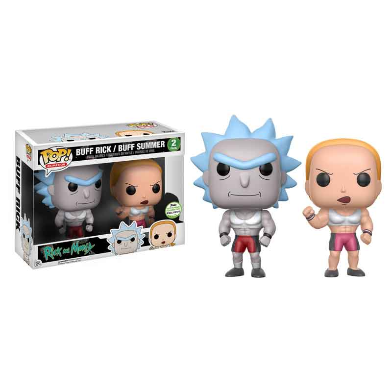 Rick And Morty Funko Pop Vinyl Spring Convention