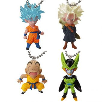 Dragon Ball UDM V Jump Special 01 Keychain Swing Collection