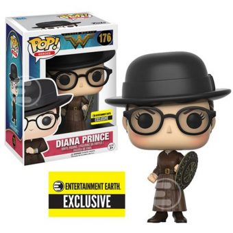 Wonder Woman Funko POP! Vinyl Entertainment Earth exclusive - Diana Prince