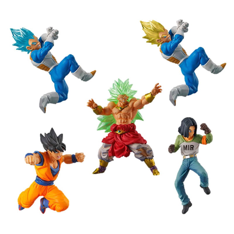 Dragon Ball Super Bandai Mini Figure Vs Series 5 Vegeta Broly Goku Android 17