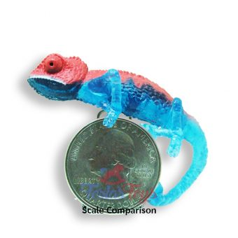 chinmari chameleon tropical clinging mini figure collection
