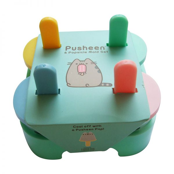 Pusheen Box Exclusive Popsicle Mold Set - 4 Popsicle Molds