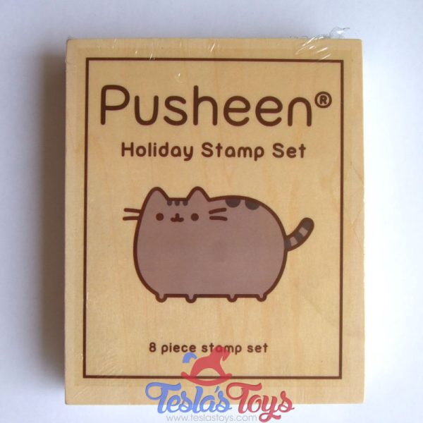 Pusheen Box Exclusive Holiday Stamp Set - 8 Stamps