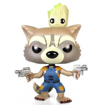 Marvel Collector Corps Funko POP! Exclusive - Guardians of the Galaxy 2 Rocket Raccoon & Groot