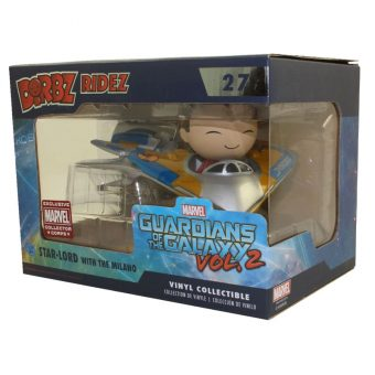 Marvel Collector Corps Funko Dorbz Ridez Exclusive - Star-Lord with the Milano