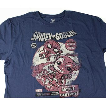 Marvel Collector Corps Funko Exclusive T-Shirt - Spider-Man vs Goblin (Medium)