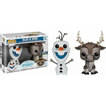 Olaf's Frozen Adventure Funko POP! Best Buy Exclusive - Olaf & Sven