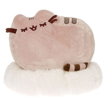 GUND Limited Edition Claire's Exclusive Pusheen the Cat Plush Toy - Pusheen Sleeping on a Cloud